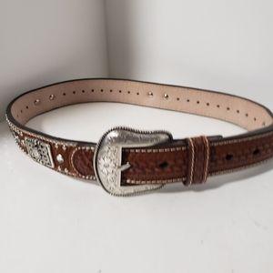 Nocona Leather Belt